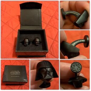 Star Wars Lucasfilm Darth Vader Head Cufflinks